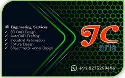 1 To 3 Days From Po Business Card Design, Regular, Size Of Business Card: Standard