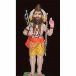 21 Feet Marble Parshuram Statue