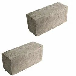 Rectangular 6inch Concrete Solid Blocks, For Side Walls, Size: 16x8x6inch
