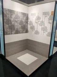 Decorative bathroom wall design Tiles