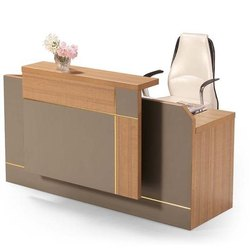 Brown MDF Reception Tables, For Office