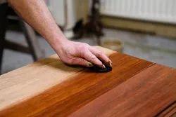 Finishing Modern Wooden Furniture Polishing Service, For Home