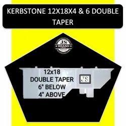 Kerbstone 12x18x4 & 6 Double Taper