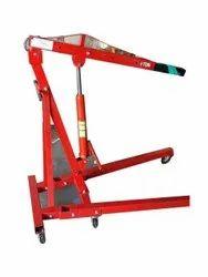 Foldable Mobile Crane, Platform Capacity: 1 Ton