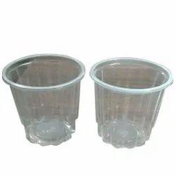 Transparent Plain 400ml Disposable Plastic Glass