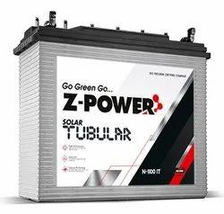 Z-Power Low Maintenance Solar Battery, Capacity: 120 Ah