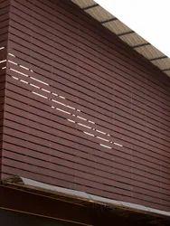 Rectangular WPC Multi Purpose Planks - Versa Maxi - 8ft, Thickness: 10 Mm
