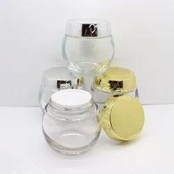 Premium Cosmetic Glass jar
