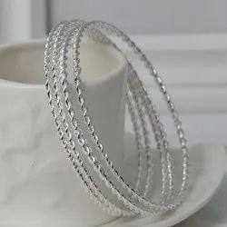75 To 925 Plain Silver Jewelry, Size: Custom, 30 To 200gm