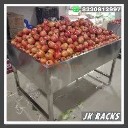Ss Centre Fruits And Vegetable Stand