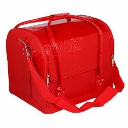 Ladies Leather Cosmetic  Side Bags