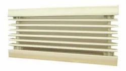 Plastic White Rectangle Louvers, For Industrial