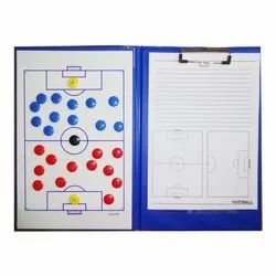 Vigour Sports PVC Magnetic Coaches Clip Folder without zip, For Football, Paper Size: A4