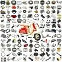 Fuel And Exhaust System Spare Parts For Lambretta GP 125/150/200