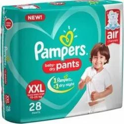 Cotton Pant Diapers Pamper Pants XXL28, Packaging Size: Cartoon