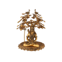Gold Plated Shiv Idol For Home Decoration & Corporate Gift