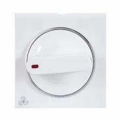 White PVC Fan Regulator