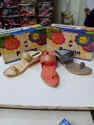 Multicolor Casual Wear Ladies Fancy Slipper, Size: 37 To 40