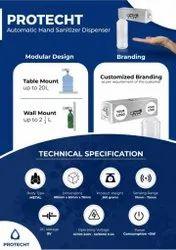 Hand Sanitizer Automatic Machine