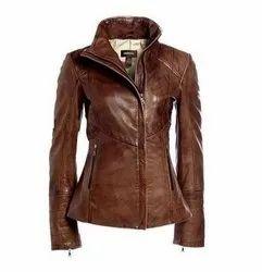 Vintage Brown Crunch Leather Tote Shoulder