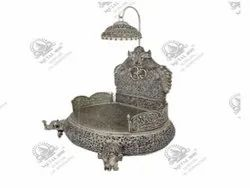 Chowki Silver Plated Artifacts