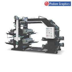 Padam Graphics TRFP-1200 Four Color Non-Woven Fabric Flexo Printing Machine