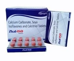 Calcium Carbonate Soya Isoflavones And Calcitriol Tablets