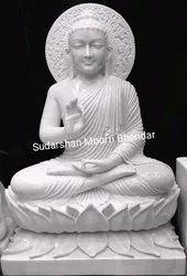 Marble Gotam Buddha Statue