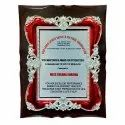 Wooden Plaue With Silver Red Frame