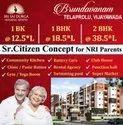 Gated Community 1 Bk(studio House), 1 Bhk & 2 Bhk Flats For Sale In Vijayawada, Pmay 2.67l