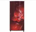 Scarlet Dazzle Lg Gl-b181rsdc 185l 2 Star Direct Cool Single Door Refrigerator