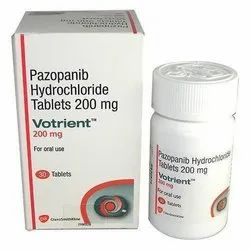 Votrient 200 Mg Pazopanib Tablets