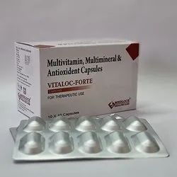 Multivitamin Multimineral And Antioxidant Capsules
