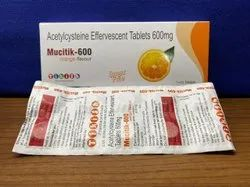 Acetylcysteine 600 Mg Effervescent Tablets