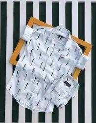 Printed Mens Mufti Shirts