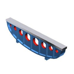 Bow Type Cast Iron Straight Edge