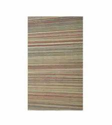 Striped Cotton Handloom Carpet, Size: 3x2 Feet