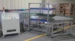 Pulsating Demagnetizer with Conveyor.