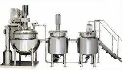 Cosmetic Cream Manufacturing Plant