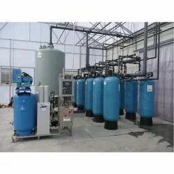 Ozonation water treatment plant