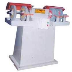 Grinder Machine With Four Grinding Wheels