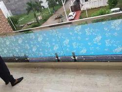 Panel Balcony Glass Railing