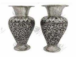 Round Silver Plated Artifacts