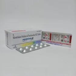 Montelukast Sodium And Fexofenadine HCI Tablets