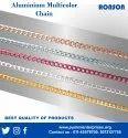 Aluminium Multicolor Chain