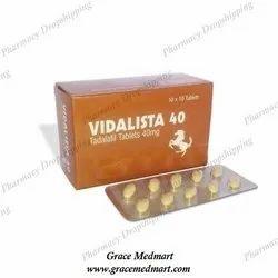 Vidalista 40 Mg Tablets