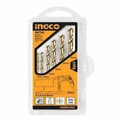 AKDB1065 Ingco 6PCS HSS Twist Drill Bits Set