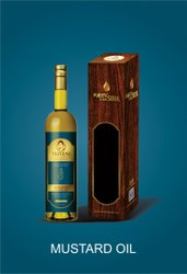 Triveni Organic Mustard Oil, Packaging Type: Glass Bottle, Packaging Size: 1 Litre