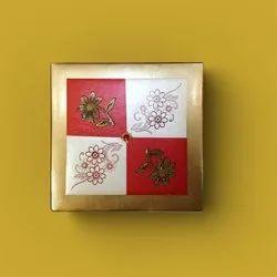 Material: Corrugated Kraft Paper Dry Fruit Packaging Box, Box Capacity (In gms): 500g