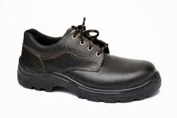 Leather Zain ZM-02 Low Ankle Safety Shoes